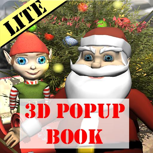Weihnachtsfreude - Lite - 3d Popup interaktive Buch