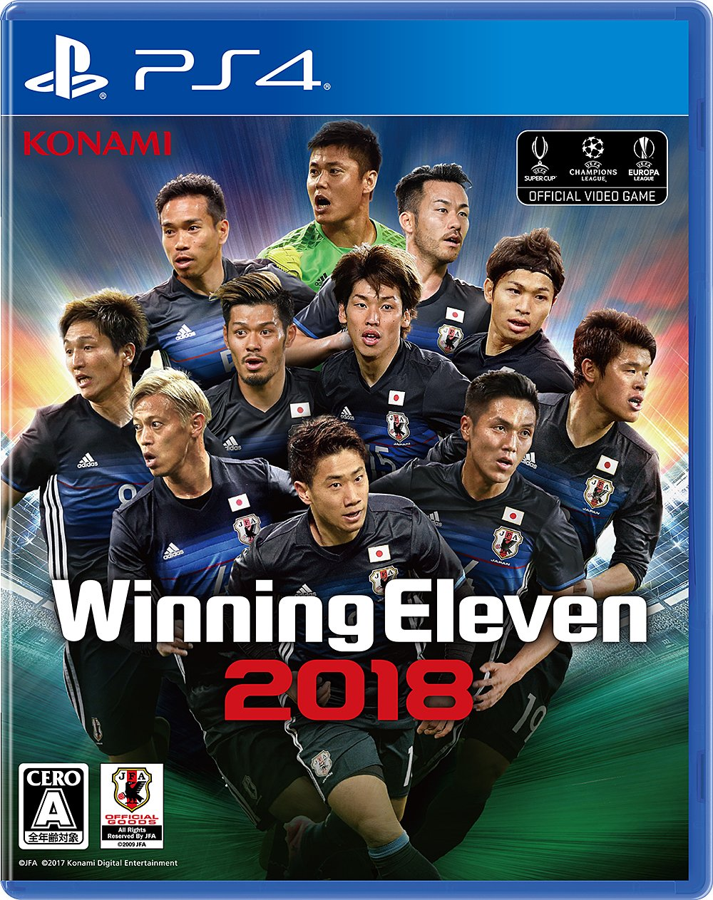 Konami PES Soccer Winning Eleven 2018 SONY PS4 PLAYSTATION 4 JAPANESE VERSION Region Free