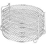 Ninja AOP104BRN Foodi Accessory Dehydrator Stand, 6.5 & 8 qt, Stainless Steel