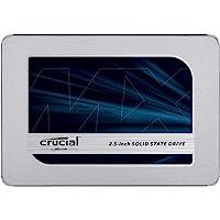 Crucial MX500 1TB CT1000MX500SSD1-bis zu 560 MB/s (3D NAND, SATA, 2,5 Zoll, Internes SSD)