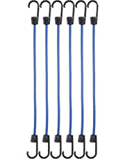 AmazonBasics TD090123 Bungee Cords | 15.7 Inches, 6-Pack