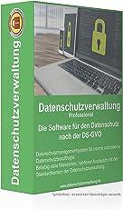 Datenschutzverwaltung Pro - Die Software für den Datenschutz nach der DS-GVO (1-Jahres-Lizenz)