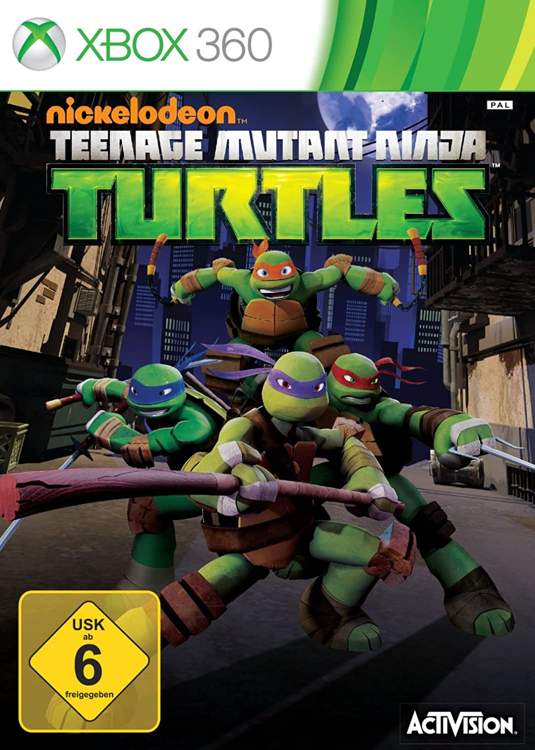 Teenage Mutant Ninja Turtles  Xbox 360 Amazonde Games