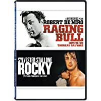 2 Movies Collection: Raging Bull + Rocky