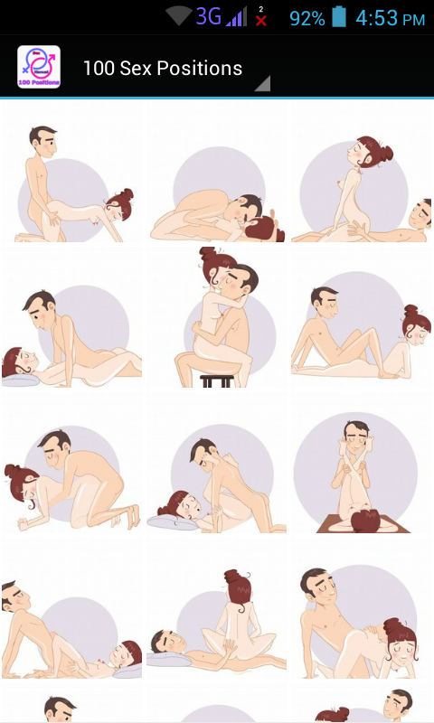 Sexual positions of the kama sutra