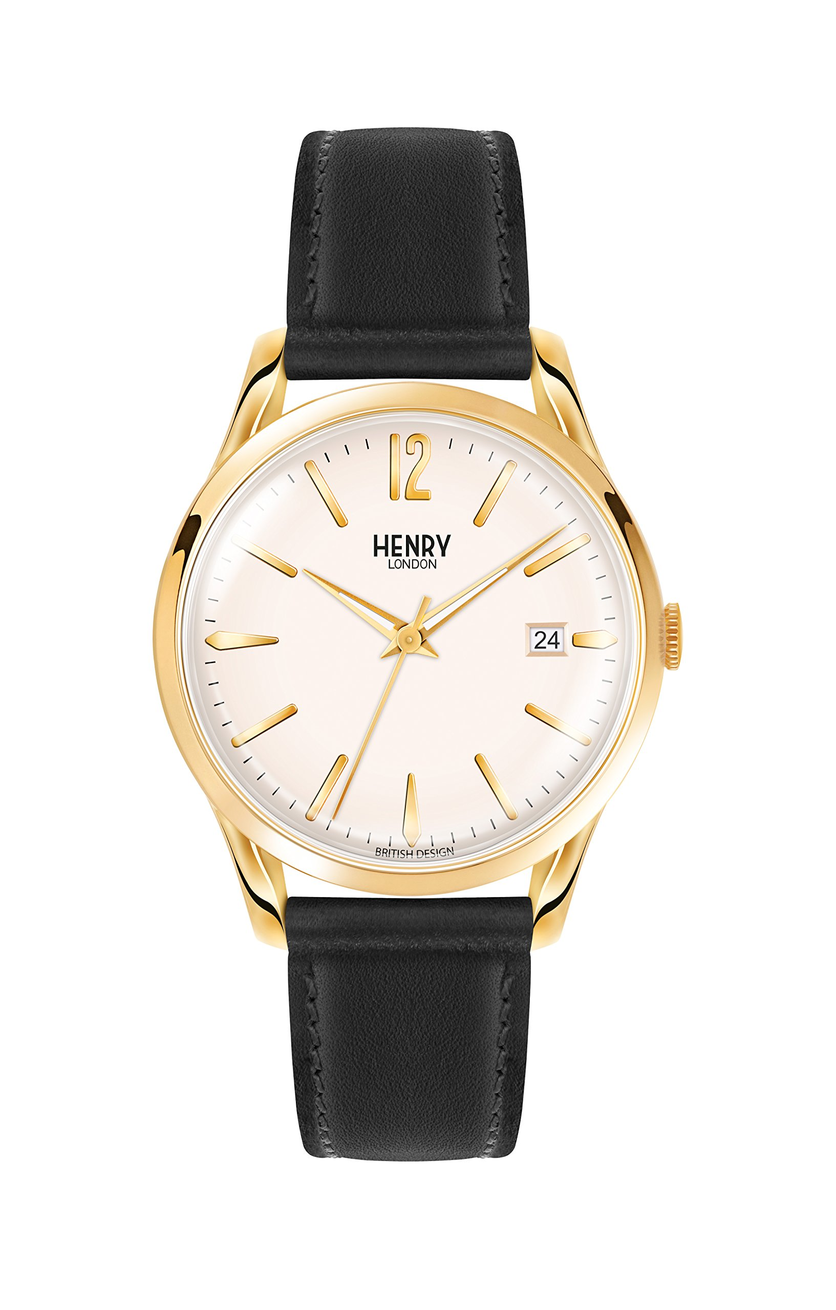 Henry Westminster London Unisex Bracelet Watch Analogue Quartz Leather (HL39)