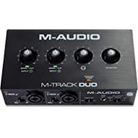 M-Audio M-Track Duo – Interfaccia audio USB per la registrazione, lo streaming e il podcasting, con due ingressi XLR…