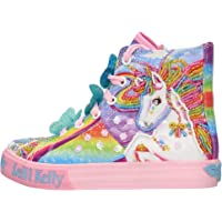 Lelli Kelly Sneakers Mid in Tela Tema Unicorno