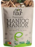 Farina di manioca premium / Senza glutine / 100% naturale / Senza conservanti / Senza additivi / VEGAN / PALEO / per Pasticceria e Cucinare