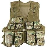 Kombat UK Kid's Assault Btp Vest, British Terrain Pattern, One Size