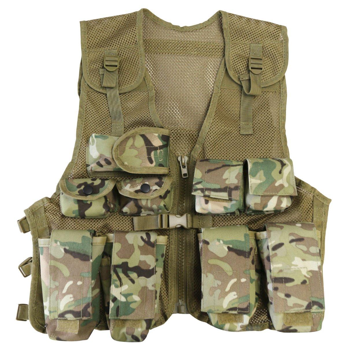 BTP Nero per Bambini Pantaloni CAMOULAGE-Esercito Militare 11-12 anni