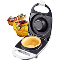 Silva Homeline CM 100 Tazza per Waffle Automat da 11 cm  520 W  Alluminio  Bianco