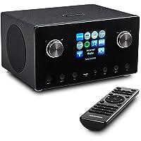 MEDION P85295 2.1 Internetradio mit DAB+ (WLAN, UKW FM, Spotify Connect, Amazon Music, DLNA, USB, LAN…