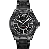 JBW Men's 10-Year Anniversary Globetrotter 21 Diamond Swiss GMT Movement Watch - J6365-10C