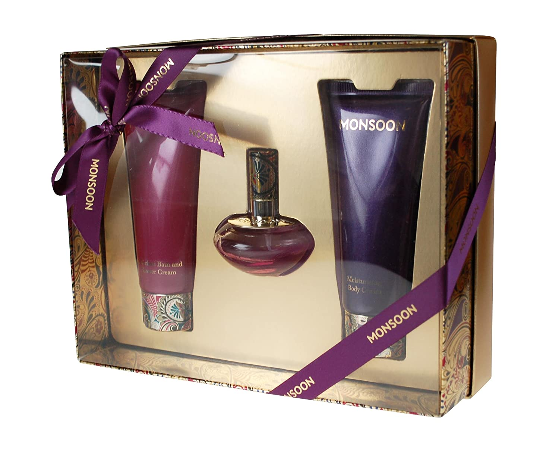 Monsoon Gift Set includes Eau de Toilette 30ml/ Body Cream 100ml ...