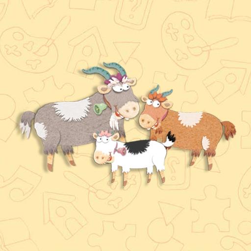 The Three Billy Goats Gruff Bk-audio