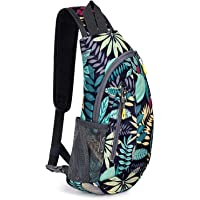 G4Free Leichte Brusttasche Sling Schulter Rucksäcke Nette Umhängetasche Dreieck Pack Rucksack zum Wandern Radfahren…