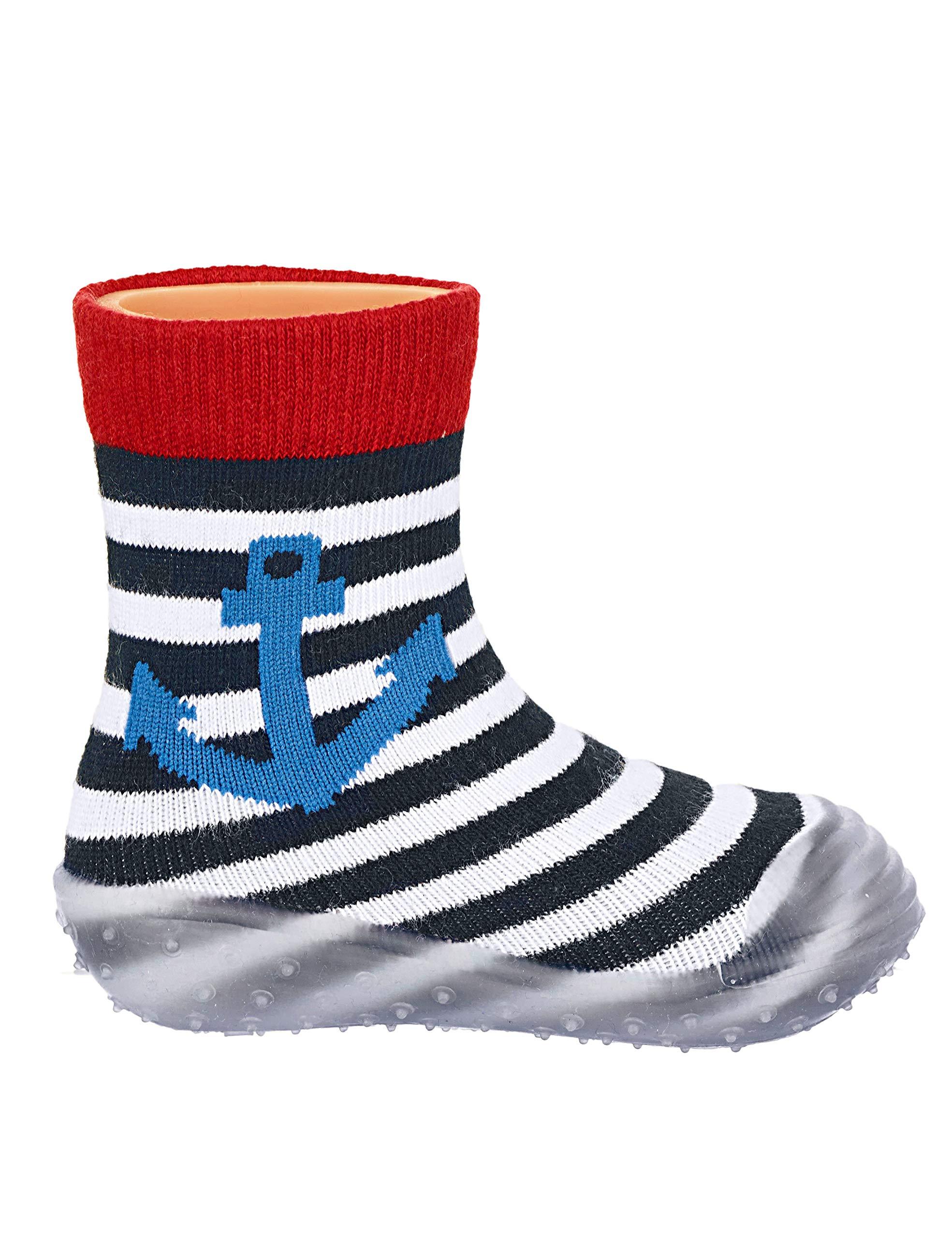 Sterntaler Adventure-Socks Anker, Zapatillas Impermeables para Niños 3