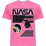 NASA - Camiseta unisex para hombre y mujer, estilo Explorar camisas casuales Classic Moon SpaceX Shuttle Apollo Aniversario L