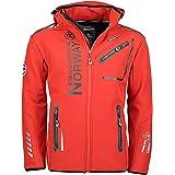 Geographical Norway Men's Softshell Outdoor Jacket Rainman? Hood