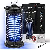 Lampe Anti Moustique, 11W UV Piège à Moustiques avec Brosse Propre & Interrupteur, Non Toxique 1800V Anti-Moustique…