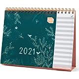 Boxclever Press Everyday Desk Calendar 2021. Freestanding 2021 Calendar with to-do Lists. Stunning Desktop Calendar 2021…