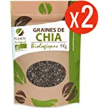 Graines de Chia Biologique 2 kg - 2 sachets de 1kg