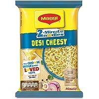 Maggi 2-Minute Instant Noodles, Desi Cheesy Masala Pouch, 60.5g