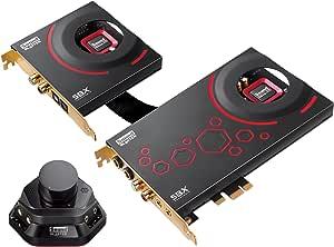 Creative Sound Blaster Zxr Interne Soundkarte Schwarz Computer Zubehör