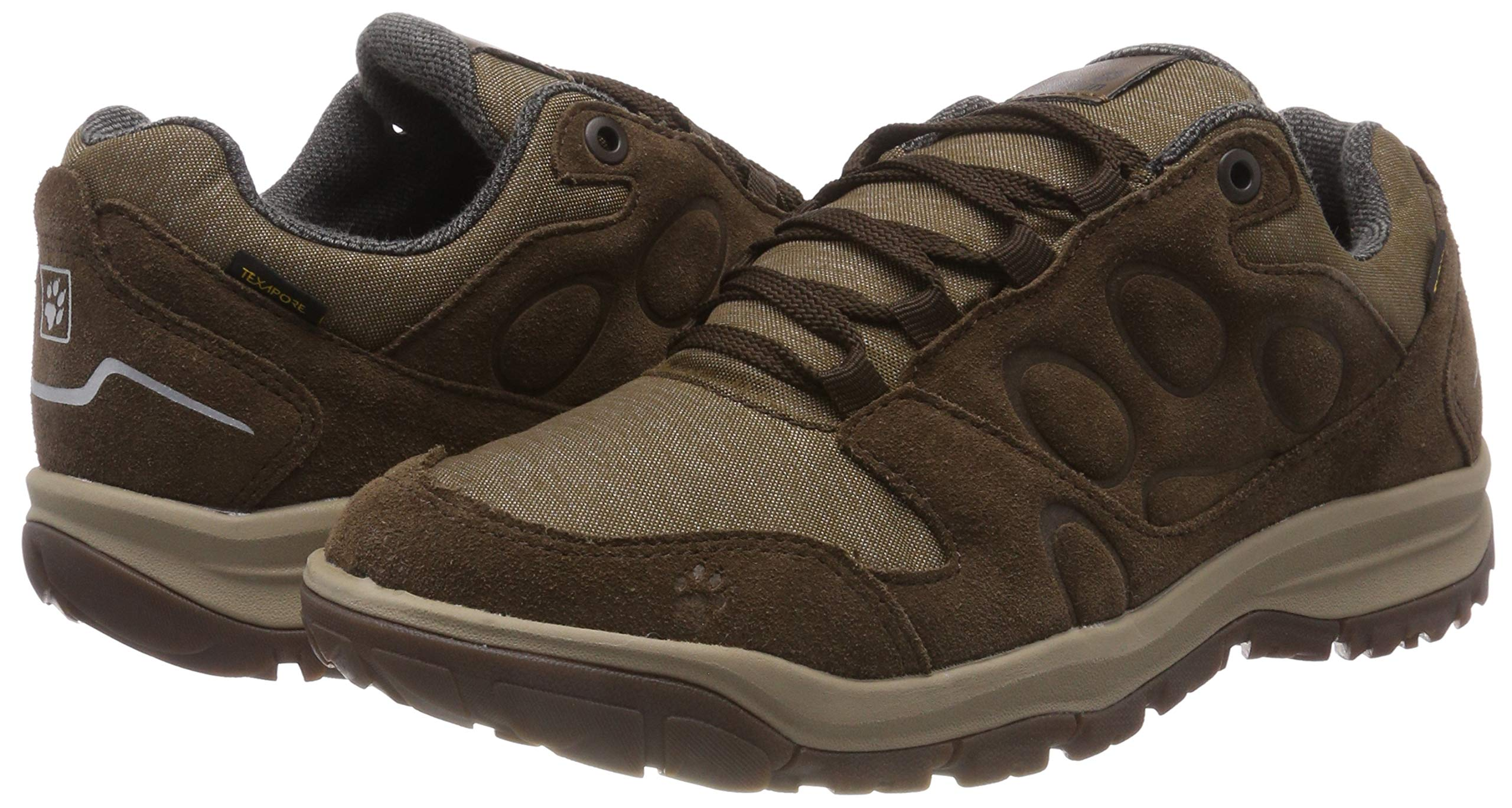 Jack Wolfskin Men's Vancouver Texapore Low M Rise Hiking Shoes 5