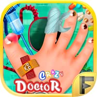 Crazy Hand Nail Doctor Hospital Surgery Games For Kids