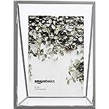 Amazon Basics Cadre photo flottant de forme triangulaire - 10 x 15 cm, Nickel