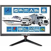 20 Pouces (51cm) 12V / 240V HD+ LED Numérique TV DVB-T/T2 (TNT) USB PVR & Lecteur multimédia ; Idéal pour : Maison…