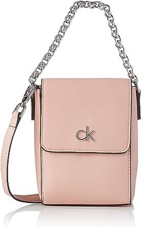 Calvin Klein Damen Re-Lock Taschen, Blush, Medium