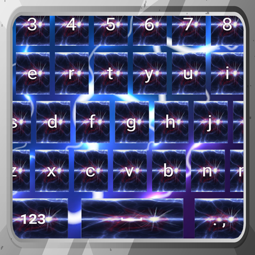 Beleuchtung Storm Keyboards (Hintergrund Streng)