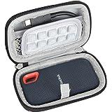 Hermitshell Duro Eva Viajar Caso para SanDisk Extreme Portable SSD 250 GB / 500 GB / 1TB / 2TB