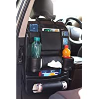 My Style Car Backseat Multi Pocket Organizer/Holder (Black)