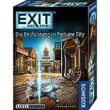 KOSMOS 680497 EXIT Das Spiel - Die Entführung in Fortune City, Level: Fortgeschrittene, Escape Room Spiel, für 1 bis 4 Spiele