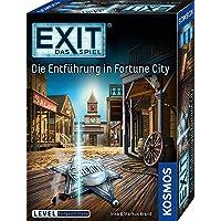 KOSMOS 680497 EXIT Das Spiel - Die Entführung in Fortune City, Level: Fortgeschrittene, Escape Room Spiel, für 1 bis 4…