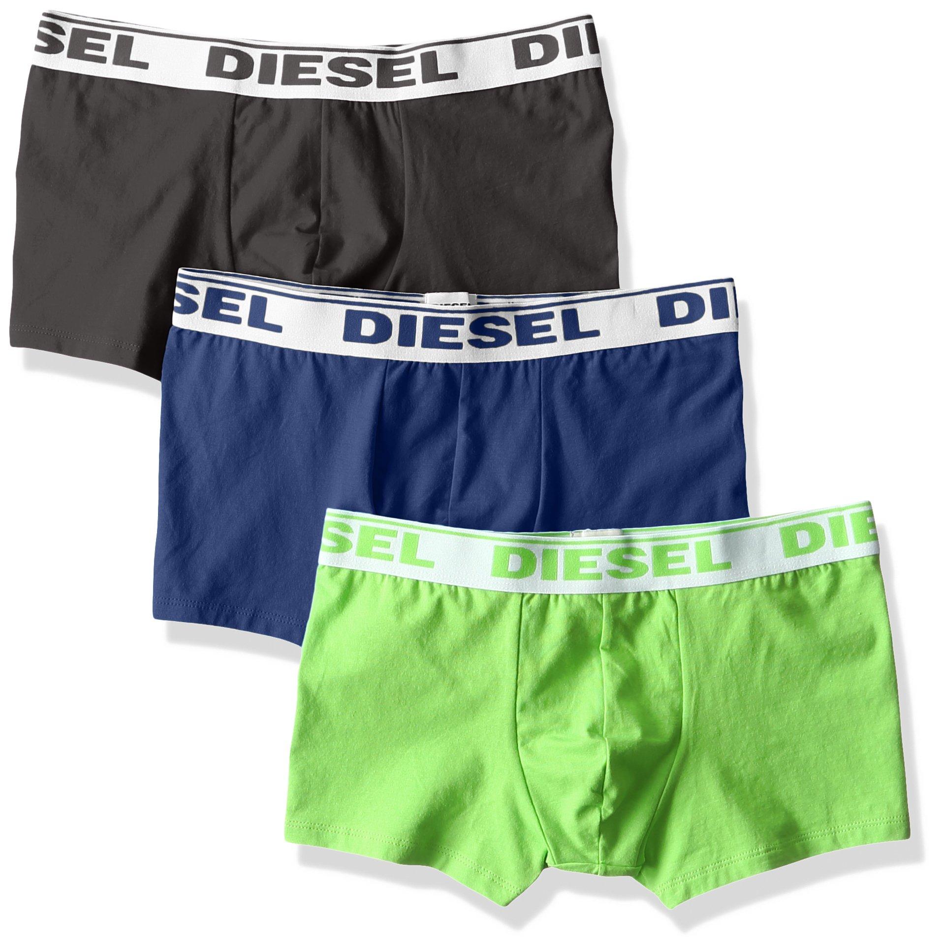 DIESEL - UMBX-SHAWNTHREE-PACK, Boxer Uomo, Multicolore (MULTICOLOR 12), M (Taglia Produttore: M)
