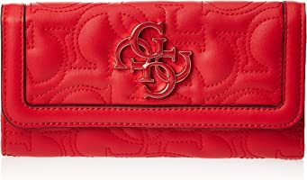 GUESS Women's New Wave Slg Multi Clutch, Red - VG747566