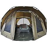 Gastatune MK-Angelsport Fort Knox 3-4 Personen kupol Innenhöhe: 1,8 m Zelt Karpfenzelt wasserfest und temperaturstabiles Ange