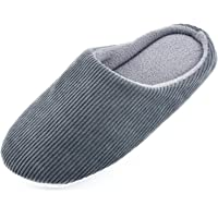 Knixmax Uomo Donna Pantofole Casa Invernali Solette in Memory Foam Chiuse Scarpe Caldo Peluche Antiscivolo Morbido…