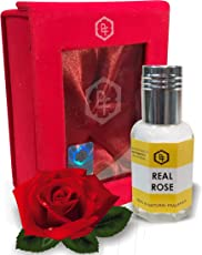 Parag Fragrances REAL ROSE 12 ML Real & Natural Attar, Best Attar For Man and Woman, 100% Alcohol Free & Long Lasting Attar