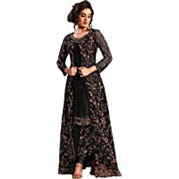 RUDRAPRAYAG anarkali net and santoon suits for women | anarkali suit for women readymade | gown for women semi-stitched…