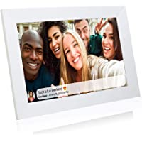 Grouptronics UK Gallery10 WiFi Digital Photo Frame - 10 Inch, Send Photos or Video to Frame Via App Worldwide - Touch…