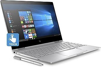 """HP Spectre X360 13-AE019NL Notebook Convertibile, Display da 13.3"""", Intel i5-8250U, 1.6 GHz, SSD da 256 GB, 8 GB di RAM, UHD 620, Layout Italiano, Argento Naturale"""