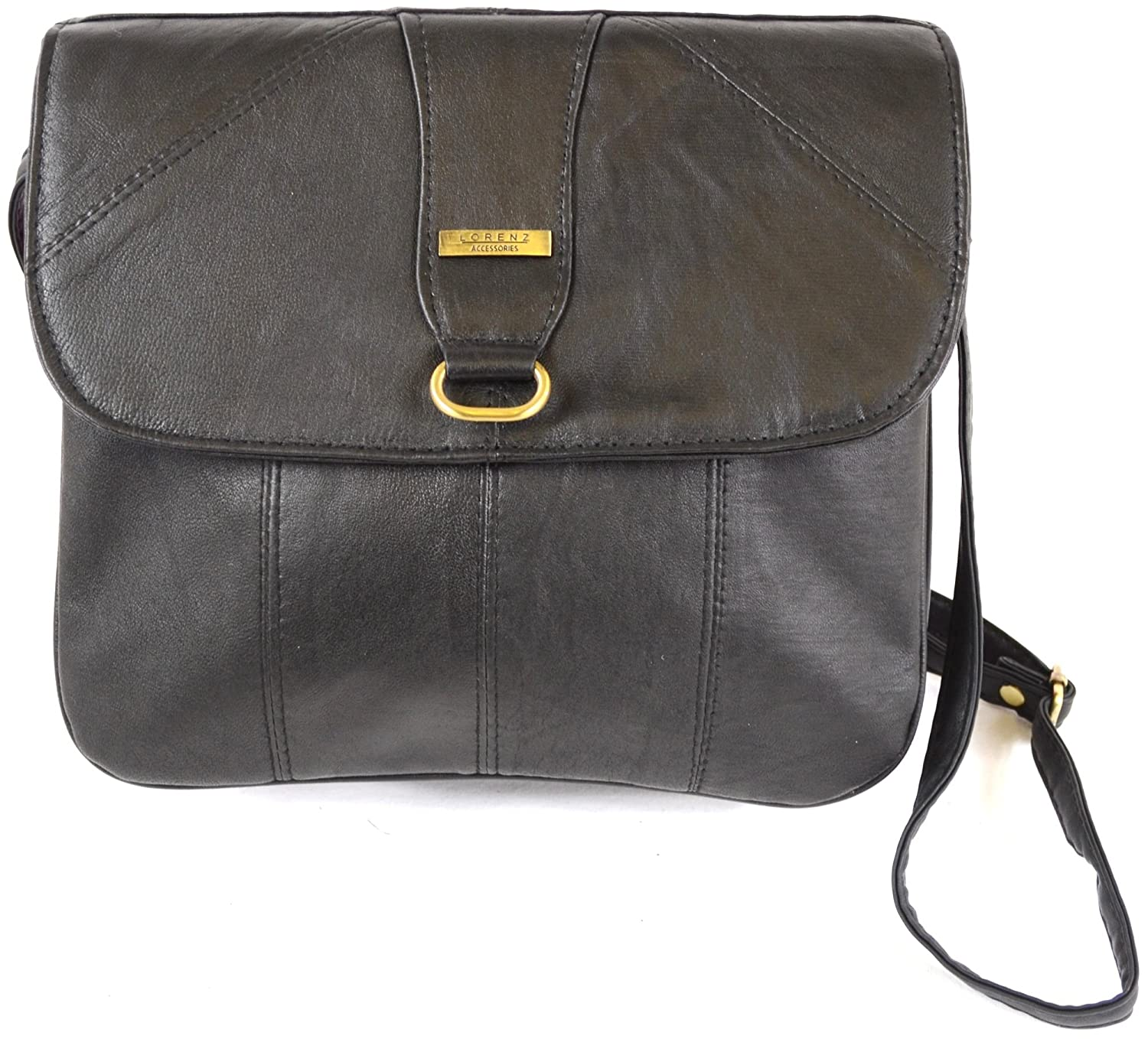 Ladies Super Soft Nappa Leather Shoulder Bag / Cross Body Bag ...