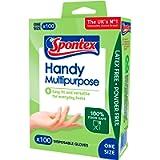 Spontex Multi-Purpose Disposable Gloves - 100 pack