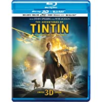 The Adventures of Tintin (Blu-ray 3D & Blu-ray) (2-Disc) - Limited Edition